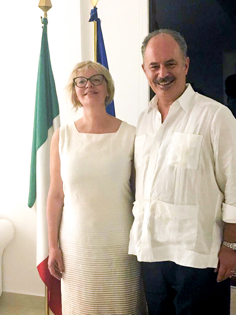 Presentation of Elena's Book about Italian Food Culture, Panama